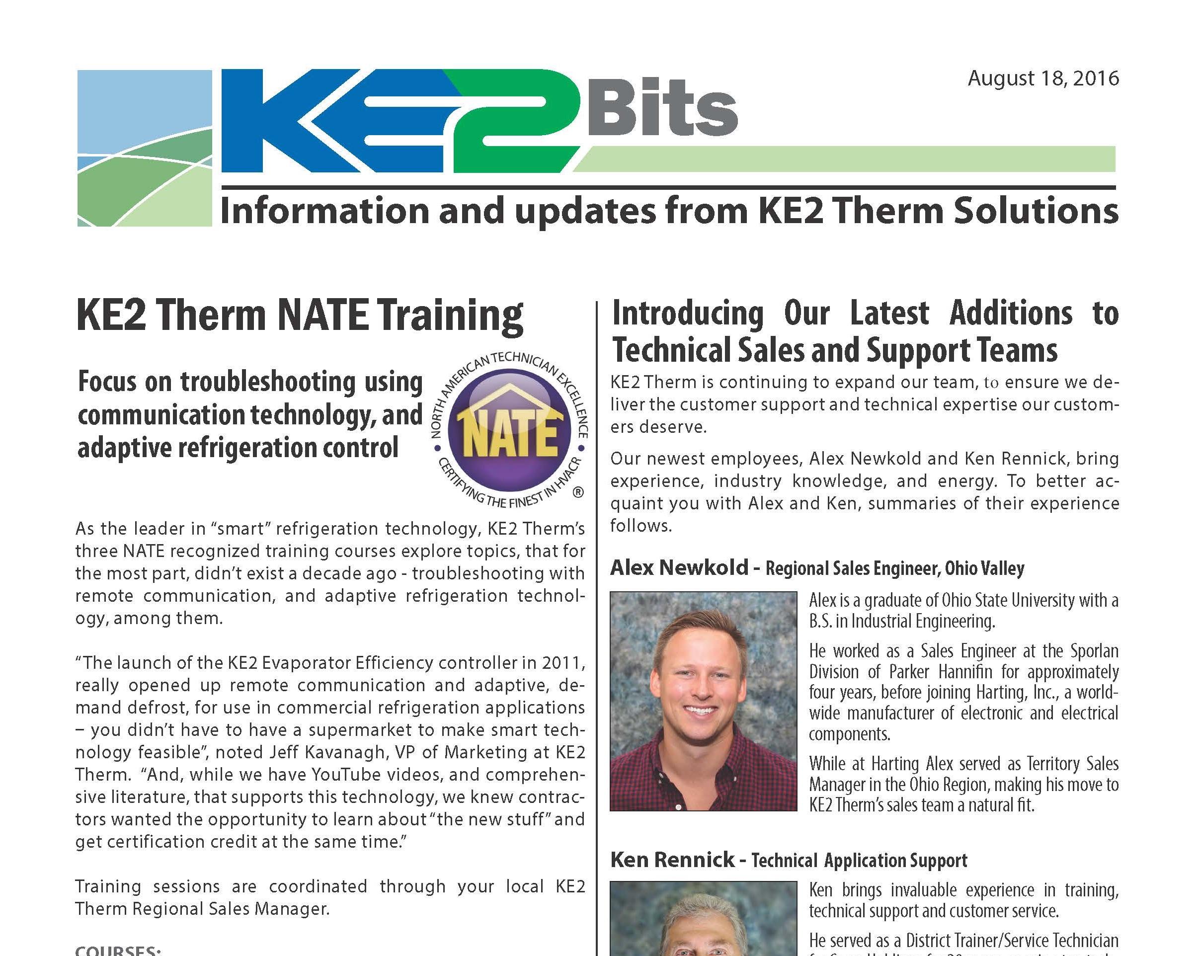 ke2 evaporator efficiency controller manual